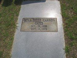 Nina Belle <i>Cannon</i> Cates