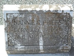 Nannie <i>Gordon</i> Chiles