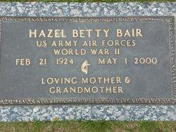 Hazel Betty Bair