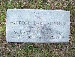 Warford Earl Bonham