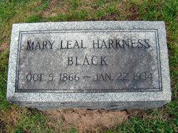 Mary Leal <i>Harkness</i> Black