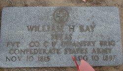 Pvt William H Bay