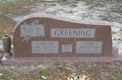 Gladys June <i>Jordan</i> Greening