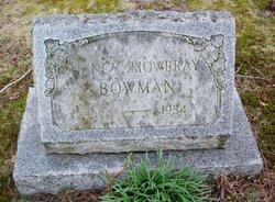 Nancy <i>Mowbray</i> Bowman