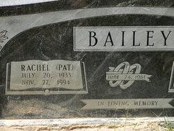Rachel Pat Bailey