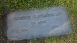 Robert G Bob Armstrong