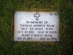 Mary P <i>Burke</i> Blum