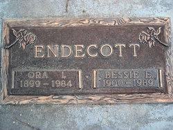 Bessie E Endecott