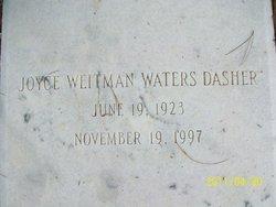 Joyce <i>Weitman</i> Dasher