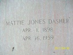 Mattie Jones <i>Lain</i> Dasher