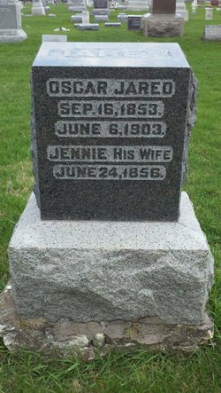 Eugenia Lois Jennie <i>Downes</i> Jared