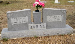 Hulda Auguste Anna <i>Boening</i> Baring