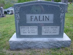 Lizzie <i>Rogers</i> Falin