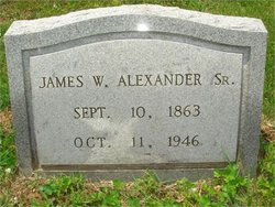 James William Alexander, Sr