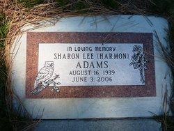 Sharon Lee <i>Harmon</i> Adams