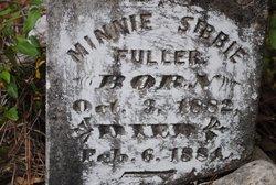 Minnie Sibbie Fuller