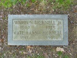 Warren Bicknell, Jr