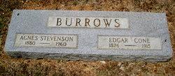 Agnes <i>Stevenson</i> Burrows