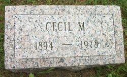 Cecil M Tawes