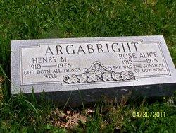 Henry M Argabright
