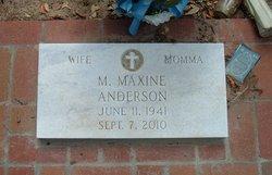 M. Maxine Anderson