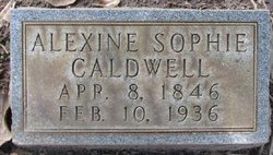 Alexine Sophie <i>Frossard</i> Caldwell