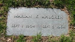 Marian K. <i>Heden</i> Ahlgren