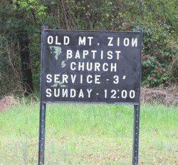 Old Mt. Zion Baptist Church Cemetery