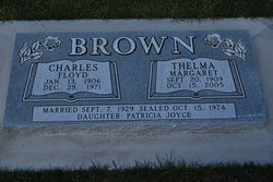 Thelma Margaret <i>Burdett</i> Brown