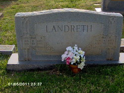 Cora <i>Payne</i> Landreth