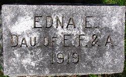 Edna E Infant Of Edwin F Corson