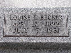 Louise E <i>Palmer</i> Becker