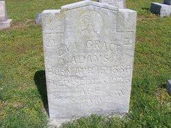 Eva Grace <i>Clark</i> Adams