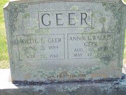 William Everett Willie Geer