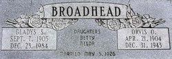 Gladys Elizabeth <i>Steele</i> Broadhead