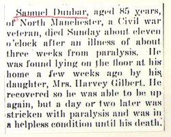 Samuel L Dunbar