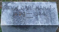 Rev John Barr Harris