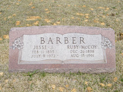 Ruby Alice <i>McCoy</i> Barber