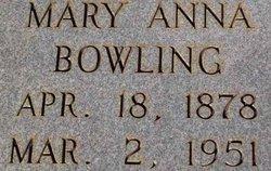 Mary Anna Bowling