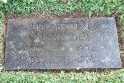 Elizabeth Mary <i>Maxwell</i> Alexander
