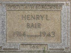 Sgt Henry L Bair