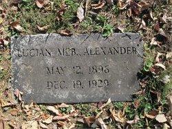 Lucian McBrayer Alexander