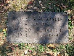 Bearus Truman <i>Kirkland</i> Alexander