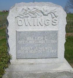 Mary Jane <i>Rose</i> Owings