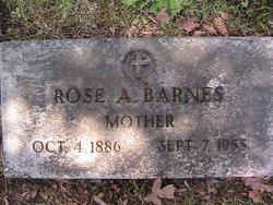 Rose Albina Rosie <i>Wakefield</i> Barnes