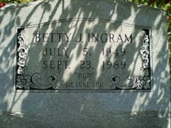 Betty J Ingram