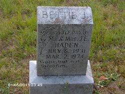 Bettie J Haden