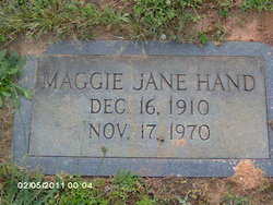 Maggie Jane Hand