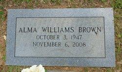 Alma <i>Williams</i> Brown