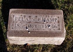 Susan Ellen Ella <i>Burchfield</i> Champ